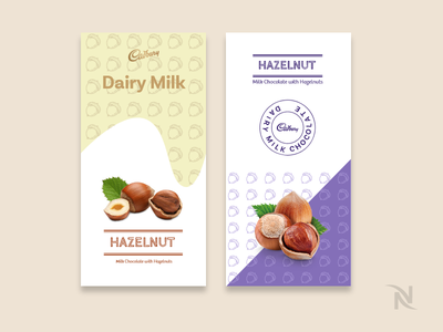 Favourite Chocolate Wrapper Redesign - Dribbble Weekly Warm Up branding design dribbbleweeklywarmup