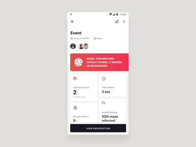 Buzzblocker - Tracking Interaction