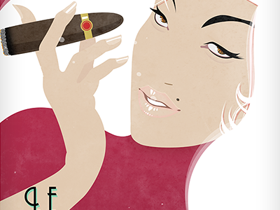 Cuban digital fashion illustration