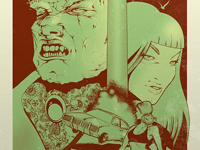 Comic Style comics illustration
