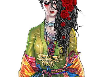 Character Design digital concept design illustration