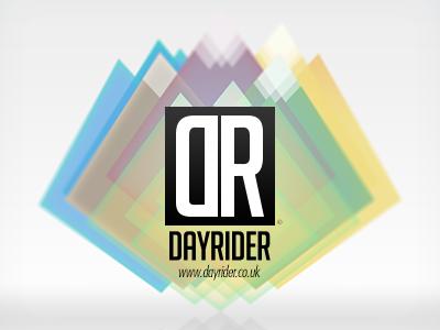 DayRider branding web design snowboarding ski logo