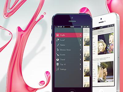 Promo digital illustration promotional app