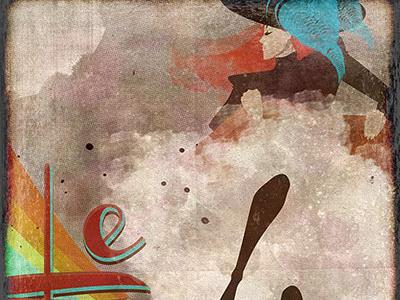 Le Ferme Blueue illustration fashion digital