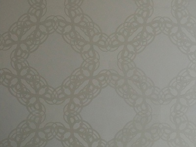 Dining Room Stencil Pattern Letter S