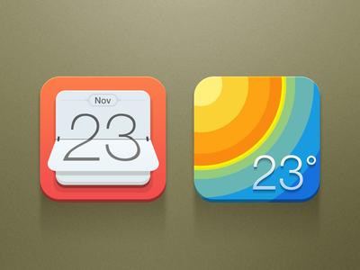 Calendar & Weather wl3x calendar weather theme color temperature date leonwu china calender flat shanghai