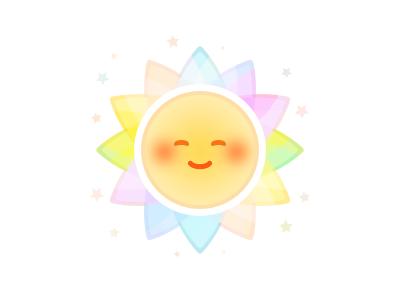 Happy Day emoji happy sun stars