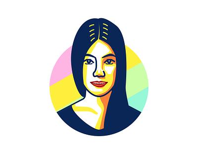 Portrait illustration portrait