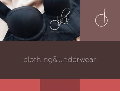Diki presentation identity creative brand logo vector design branding