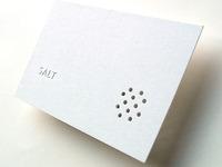 Restaurant business card (2002)