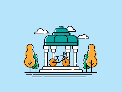 Bdood City - shiraz iran shiraz design application app design vector uidesign illustraion vector illustration graphic design