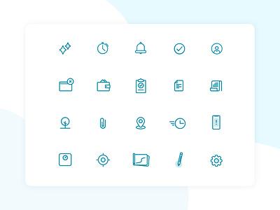 Icon set iconset design ui  ux app design uidesign ui graphic design icon design icon