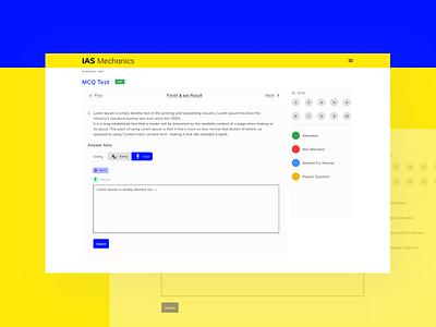 Voice and Text unacdemy education ias dribbble uidesign exploring basics visual design vibrant preparation exam input text