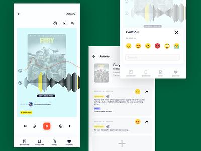 Audiobook product design designer suno amazon audiobook uidesign uxdesign dribbble 2020 trends design dassault designchallenge 2020