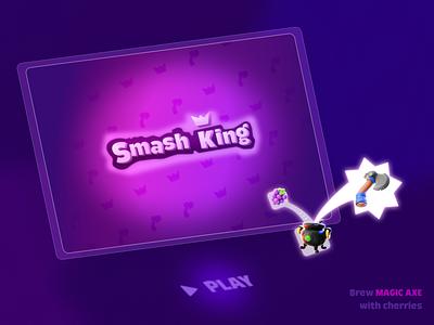 SmashKing fishdom gardenscape homescape magic exploring expr illustration logo uidesign game match3
