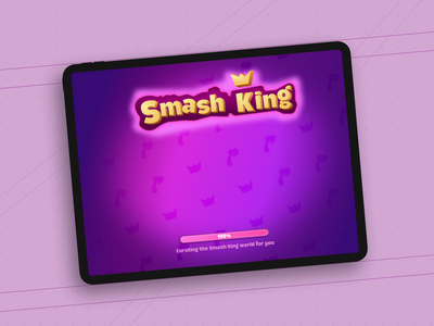 👑Smash King metagame matc3 gamedesign gameui 2020 basics logo design uielements minimal exploring dribbble illustration laodingscreen uidesign ui effect 3d figma