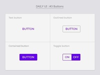 Daily UI : #3 Buttons