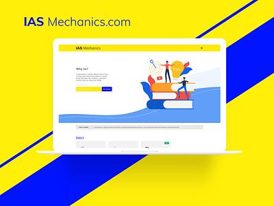 IAS Mechanics uxdesign uidesign art direction product webdesign design dribbble coaching 2020 trend 2020
