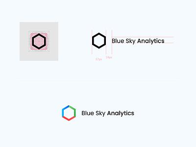Blue Sky Analytics dailyui basics exploring designer designs illustration product design visual design design system 2020 logo design branding logodesign design direction