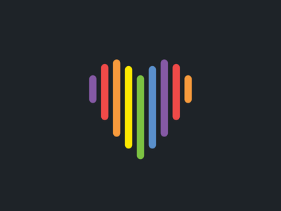 HomeAway Pride Heart diversity love branding community inclusive heart rainbow lgbtq pride