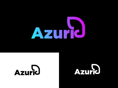 azuri logo design with elephant icon branding identity minimal modern elephant logo a logo azuri animal icon logo type logo mark logo logo design