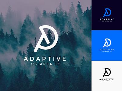 Adaptive minimalist initial letter logo lettter logo initial logofolio logo design brand identity minimal logodesigner logotype logomark logos logo