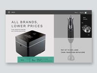 E-store design concept