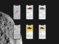 Sneakers App UI Design