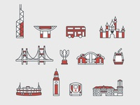 Hongkong icons