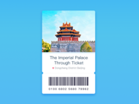The Imperial Palace Ticket