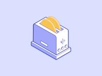 Toaster & Waffle