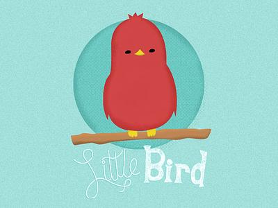 Little Bird illustration bird little bird hand lettering typography colors sketch doodle