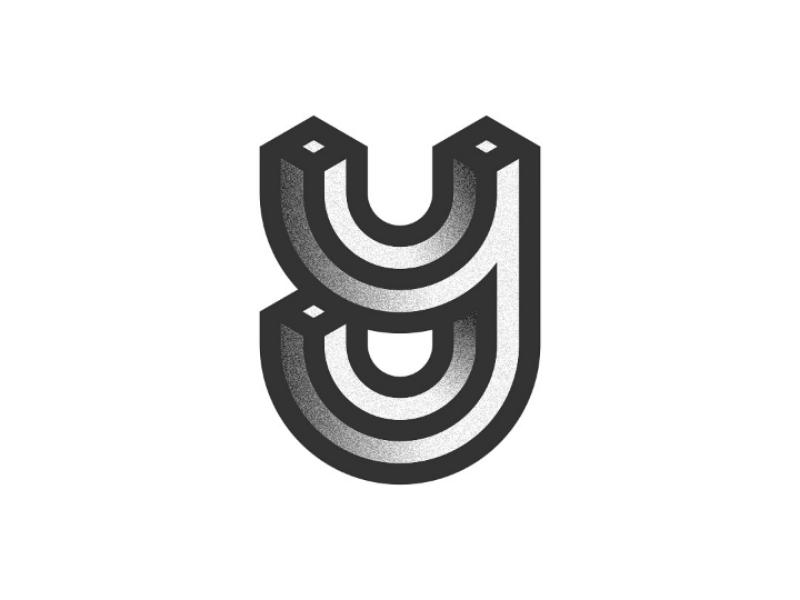 Letter y typography identity creative idea sign branding brand lettermark logo