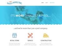 Ideal Pools Homepage
