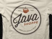 Java Shoppe Shirt WIP
