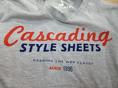 Cascading Style Sheets css tshirt t-shirt shirt knockout heather screen print marketing script trade gothic