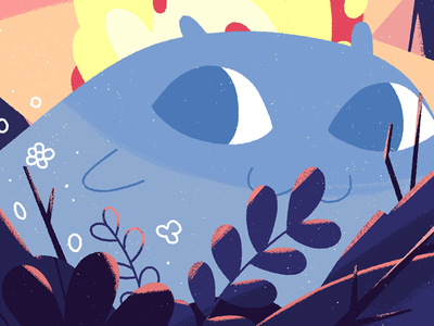Midsummer Kid character illustration