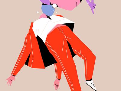 Howdy character body illustration