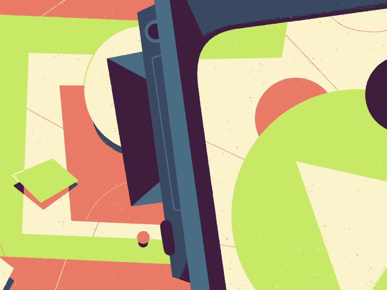 Moovies editorial illustration illustration
