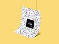 Hanging Poster Branding & Presentation Psd Mockup 2018