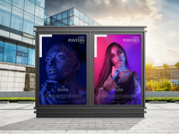 Outdoor Expo Posters Mockup Free