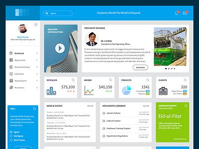 Intranet Portal intranet employees statistics web portal ux ui
