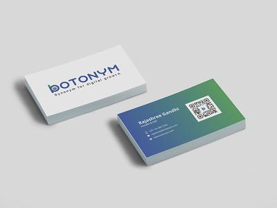 Botonym Business Card business card seo design agency marketing media digital bot botonym