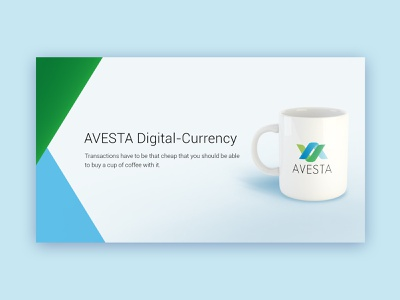avesta web banner typography illustrator minimal design illustration branding
