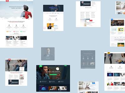 Online courses & Education theme website design wordpress theme online course education learnpress ecommerce education theme education website