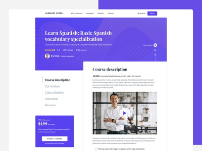 Learning Management System (Course page) teacher school progressive web app mentor lms learning management system instructor headless cms elearning courses classes academy