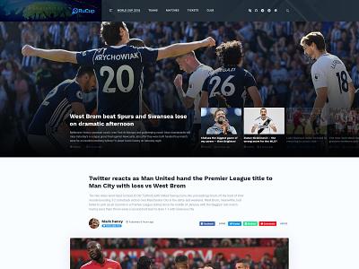 Article Page sports theme news template blog theme psd template psd portfolio multipurpose modern minimal elegant creative corporate business agency