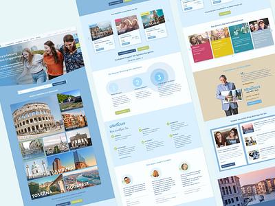 Website for albaTours Reisen GmbH Stuttgart website strategy website concept website design webdesign sketch