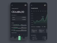Bank App - Mobile Concept