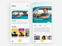 Cinema App - Mobile Concept